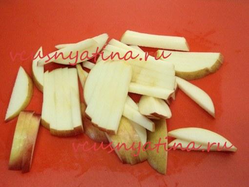 вкусный яблочный пирог рецепт