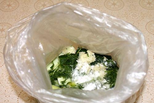 огурцы малосольные рецепт в пакете