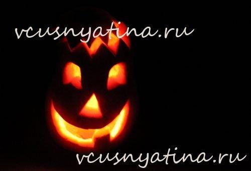 tykva-na-hjellouin-4 Как вырезать тыкву на Хэллоуин: изготовление фонаря из бумаги, красивое оформление головы Джека