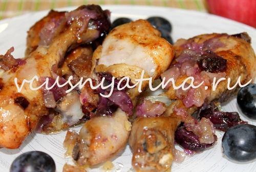 запеченные куриные голени в духовке