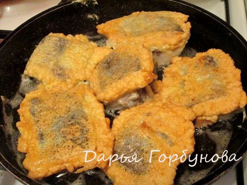 приготовление рыбы в кляре рецепт