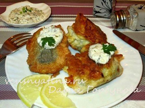 рыба в кляре фото рецепт