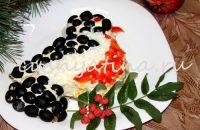 салат праздничный слоеный