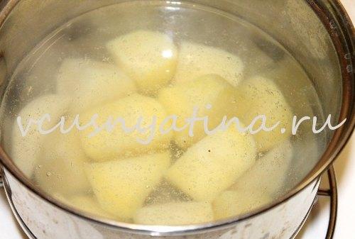 пюре из картофеля рецепт
