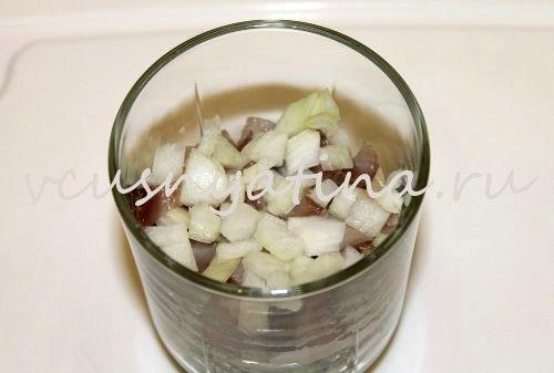 салат из соленой сельди