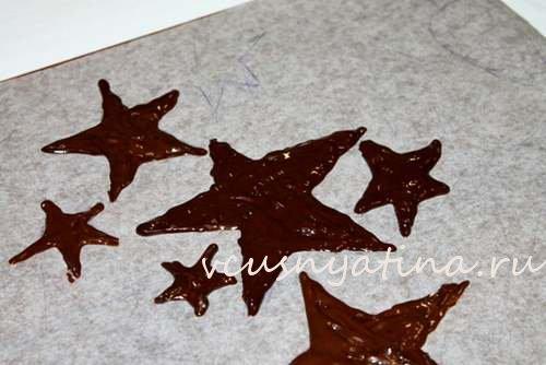 шоколадная елочка