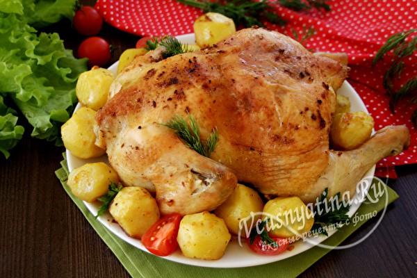 Курица для новогоднего меню