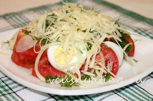 salat iz pomidorov