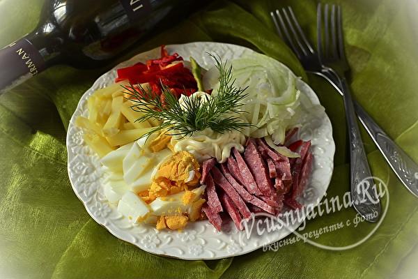 Простые праздничные салаты на новогодний стол 2021