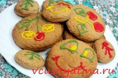 рождественское печенье фото