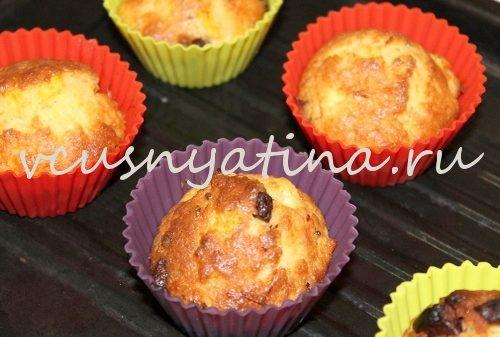 Кексы с апельсином и шоколадом – кулинарный рецепт