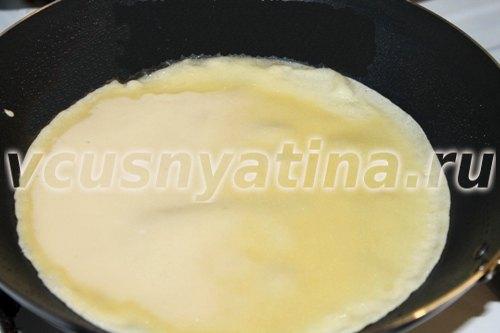 блинчики фаршированные яйцом и луком