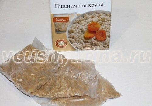 Крупа пшеничная: едим с пользой + диета
