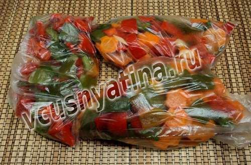 Замороженные овощные смеси на зиму своими руками 75