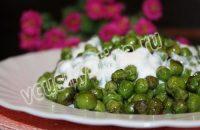 приготовление зеленого горошка