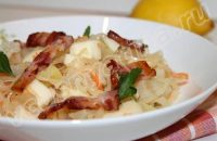 картофельный салат с беконом рецепт с фото
