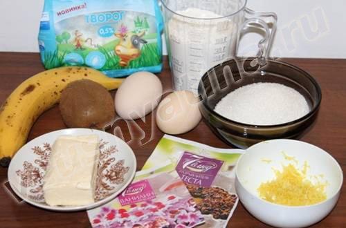 tvorozhnye keksy s bananom i kivi1