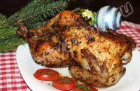 Рецепт запеченной курицы со специями в духовке
