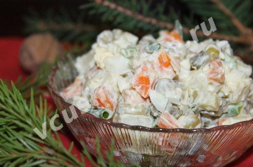 оливье салат рецепт с фото