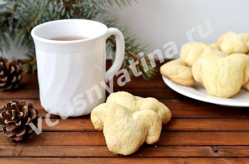 Рецепт новогоднего печенья Овечки на 2015 год