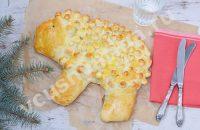 пирог овечка на Новый год