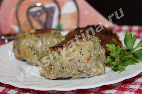 Рецепт котлет из мяса с овощами от Vcusnyatina.ru
