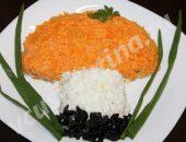 салат подосиновик