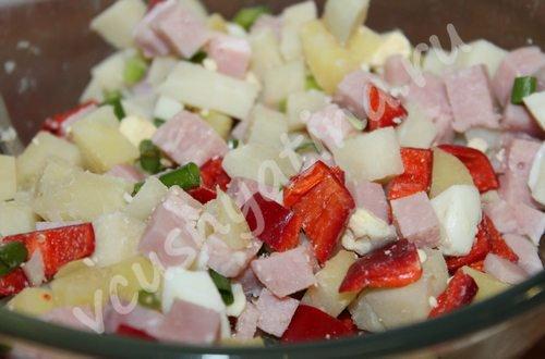 salat s vetchinoj i ovoshhami 6