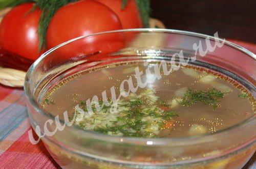 Как приготовить гречневый суп с мясом