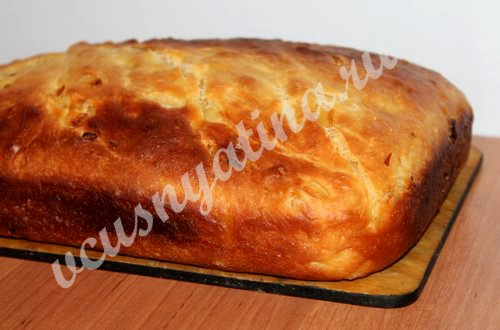 луковый хлеб