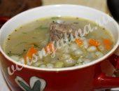 суп рассольник с перловкой рецепт