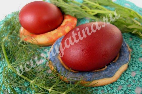 пасхальные колечки для яиц