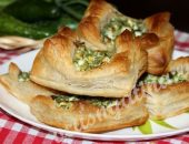 Ленивые пирожки с яйцом и зеленью рецепт с фото