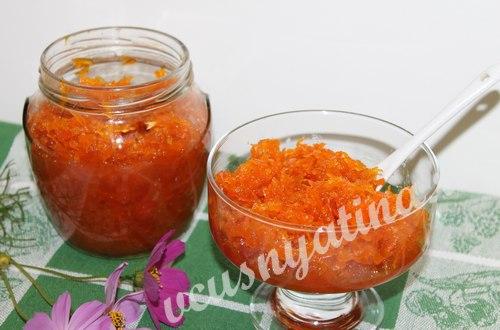 Джем из моркови с апельсином и лимоном – взрыв вкуса обеспечен!