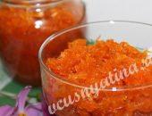 Джем из моркови рецепт