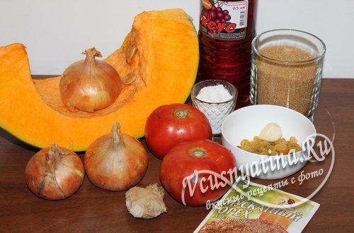 ингредиенты чатни