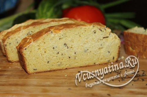 Кукурузный хлеб в духовке, рецепт с фото по шагам