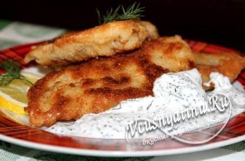 Как приготовить филе пангасиуса, жареное в кляре