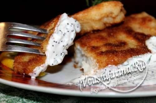 Филе пангасиуса в кляре, рецепт с фото
