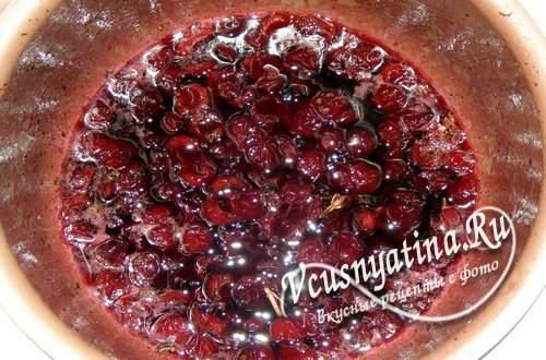 Варенье из вишни без косточек в мультиварке
