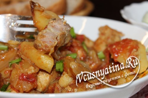 Оджахури из свинины по-домашнему – пошаговый рецепт с фото