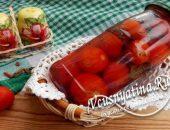 Вкусные маринованные черри на зиму с корицей