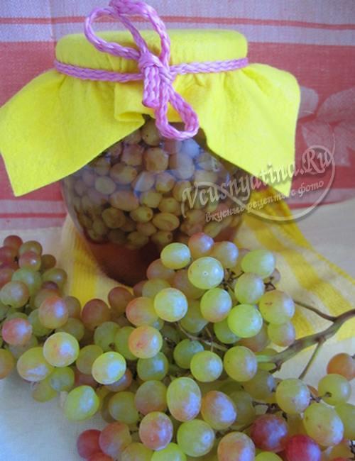 Рецепт варенья из винограда кишмиш на зиму по шагам