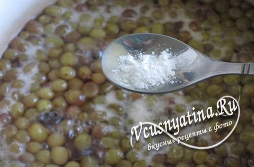 Добавьте в варенье из винограда сахар ванильный и лимонную кислоту