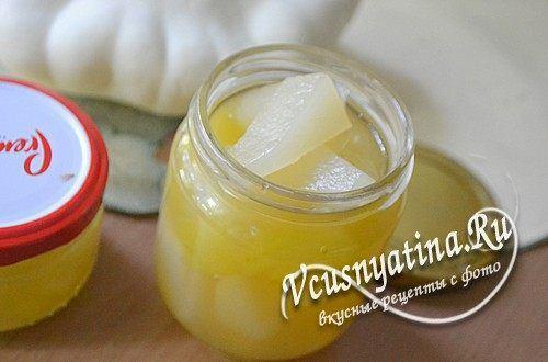 Рецепт кабачков с ананасовым соком на зиму