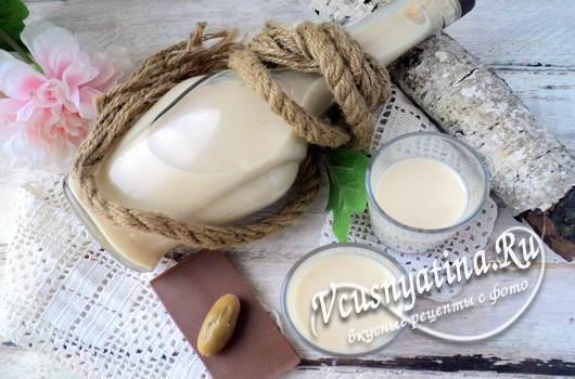 Как приготовить кофейный ликер со сгущенкой
