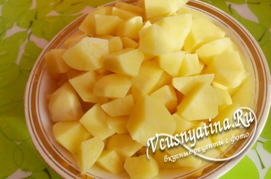 Картофельные котлеты из пюре с фаршем и другой начинкой