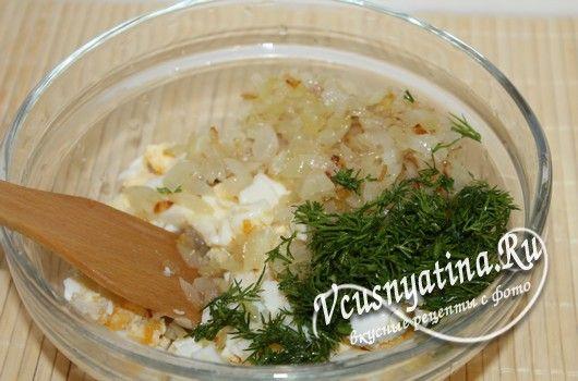 приготовить яичную начинку