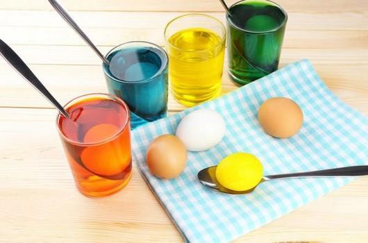Как красить яйца на Пасху пищевыми красителями