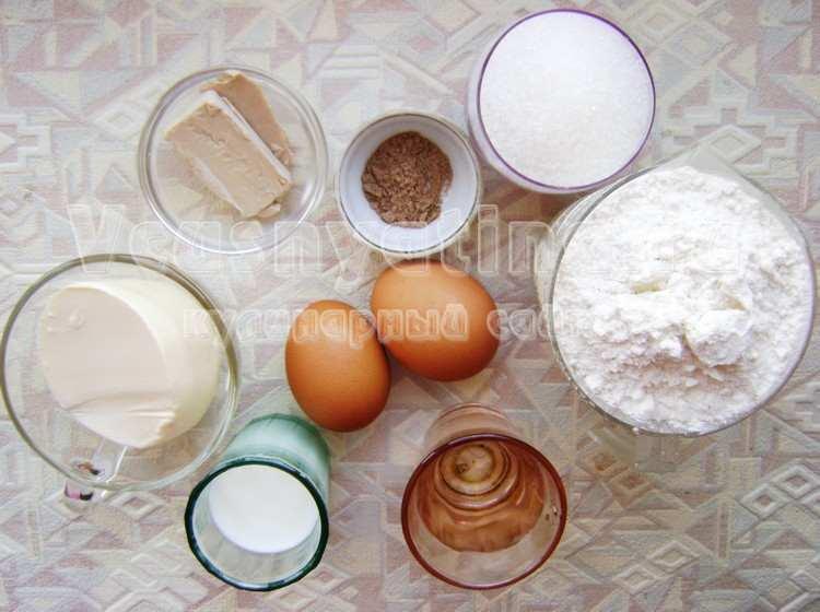 Ингредиенты для монастырского кулича